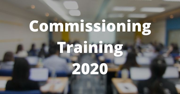 Commissioning Training 2020